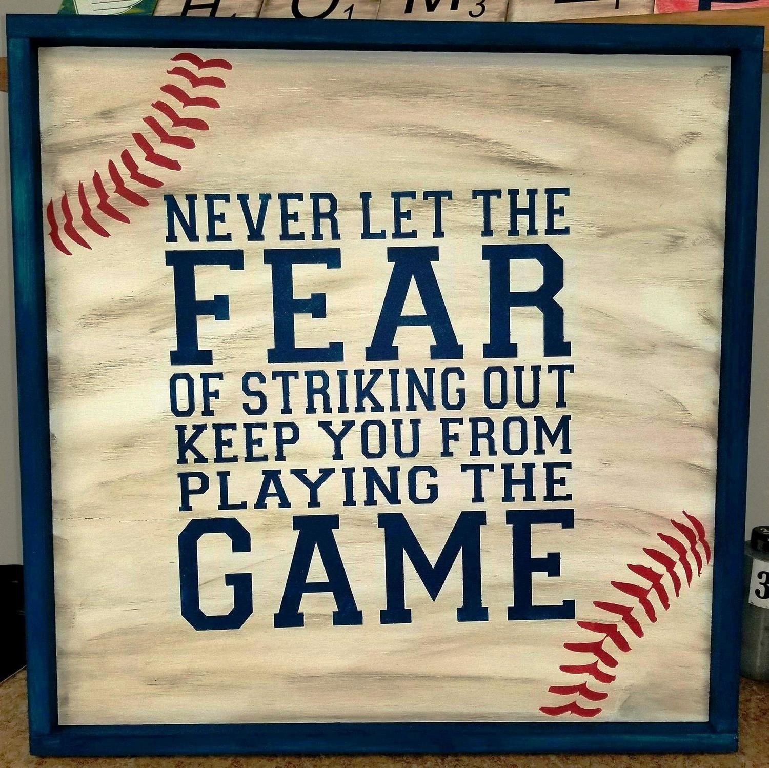 Never Let the Fear