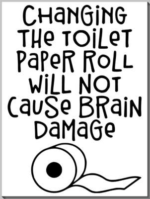 Changing the Toilet Paper Roll