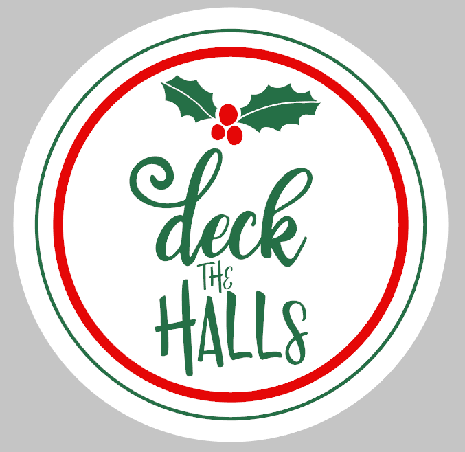 Round Deck the Halls