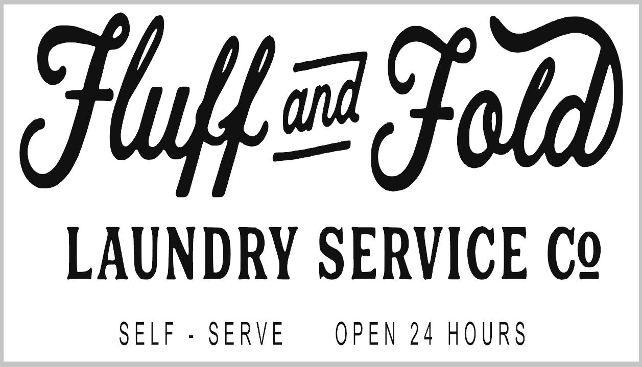 Fluff & Fold Laundry Service