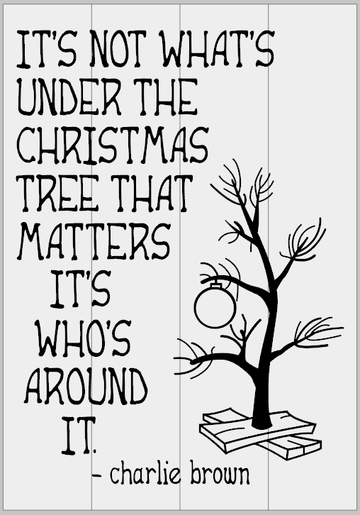Not What's Under the tree - Charlie Brown
