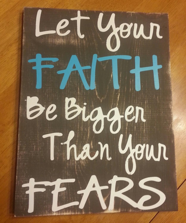 Faith be Bigger