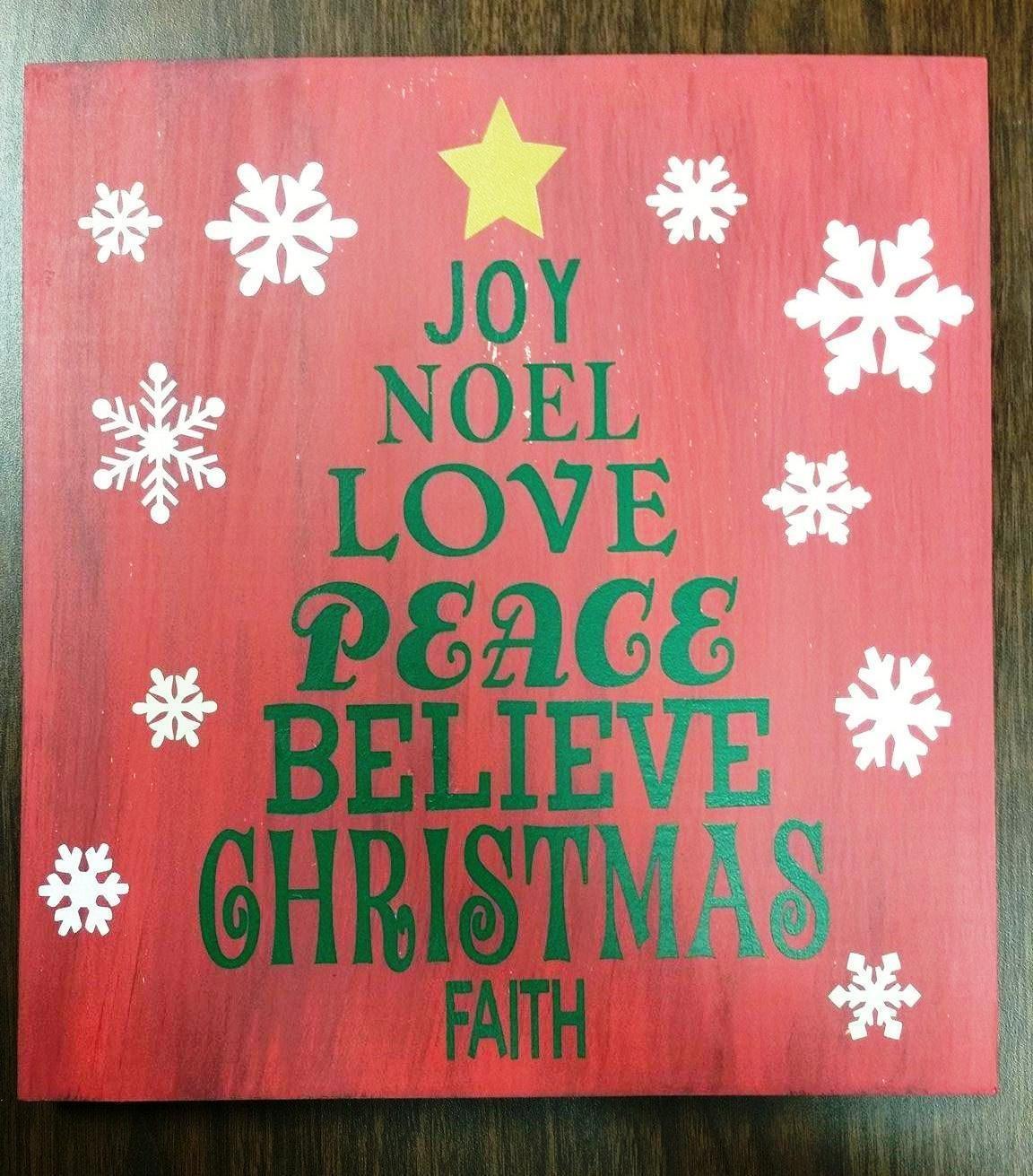 Christmas Tree Word Art