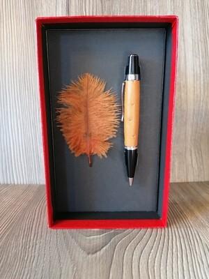 Kugelschreiber cognac