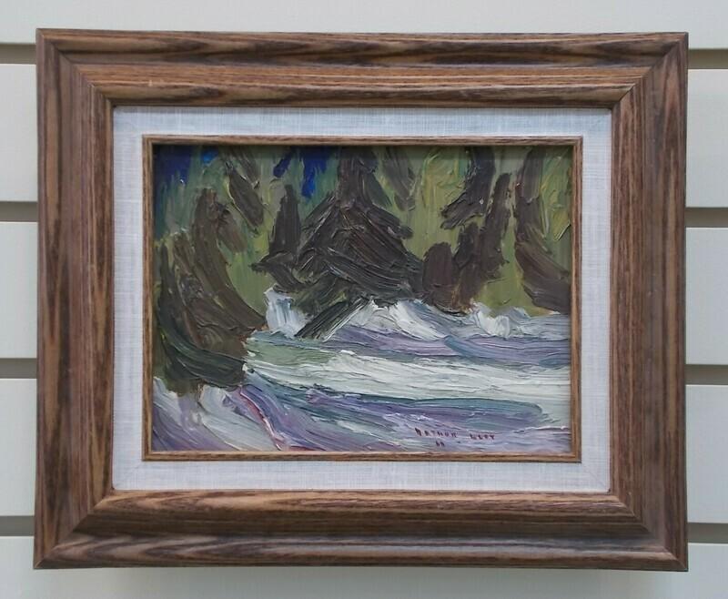 Spruce and Snow - Arthur Lloy
