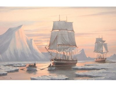HMS Erebus and HMS Terror