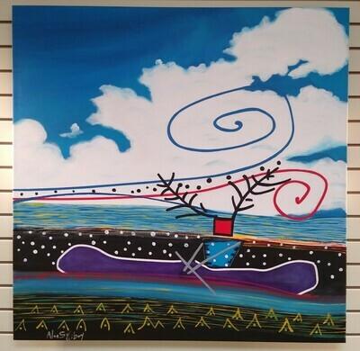 Purple Canoe