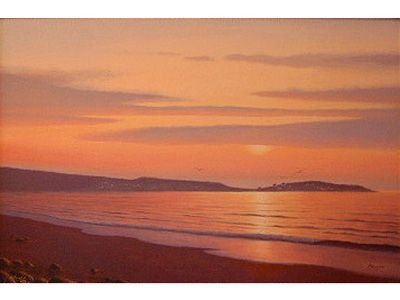 Port Hood Island Sunset
