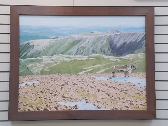 Caribou on the Barrens By Al Chaddock