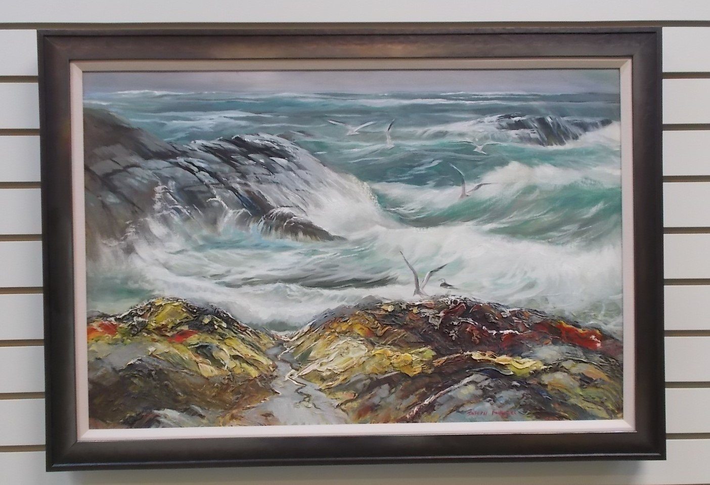 Seascape By Joseph Purcell