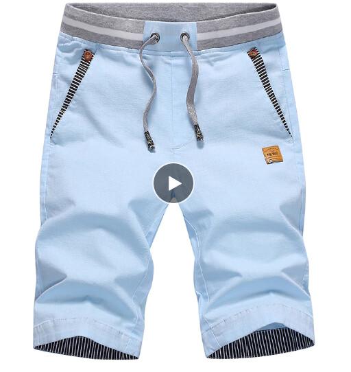 Short Liso Pantalon Cort Slim Fit Korean Style