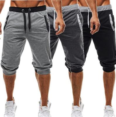 Short Harem Pants Ropa Hombre Korean Style