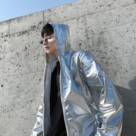 Hip Hop Cardigan Ropa Corean Korean Style