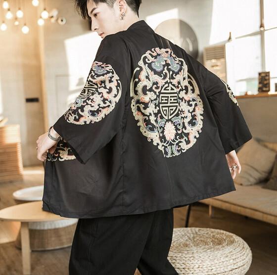 Samurai Kimono Cardigan Korean Style