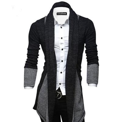 Cardigan Jacket  Hombre Korean Style