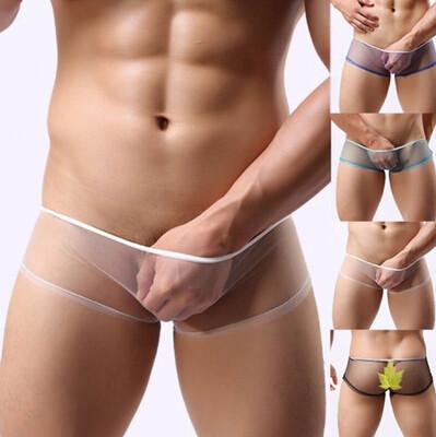 Calzoncillos de malla Transparente Hombre Korean Style