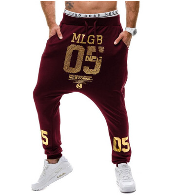 Pantalon Harem Hombres Korean Style