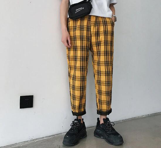 Pantalon Harem Streetwear Hip Hop Hombre Korean Style