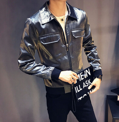 Bomper Liso Slim Fit Hombre Korean Style