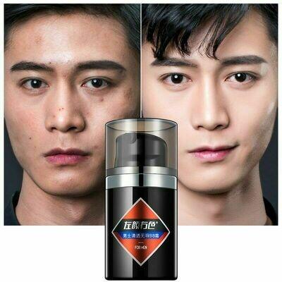 Men Brighten Base Makeup BB Cream Wheat Natural