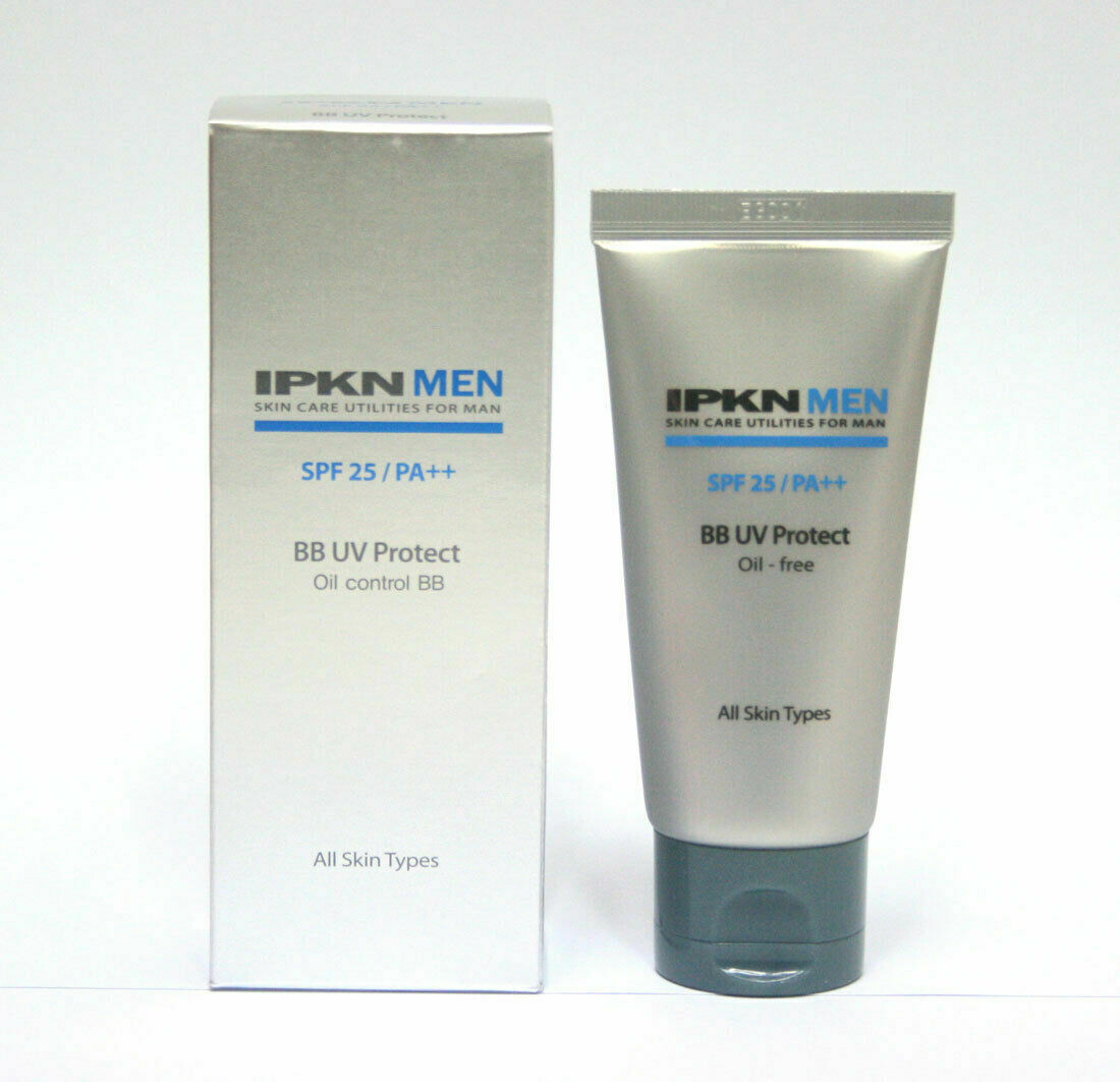 [IPKN] MEN BB UV Protect SPF25 PA++ 50ml /moisture, oily free