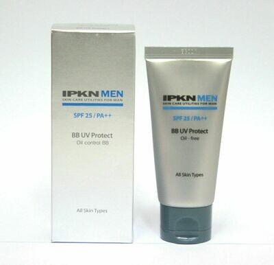 [IPKN] MEN BB UV Protect SPF25 PA++ 50ml /moisture, oily free