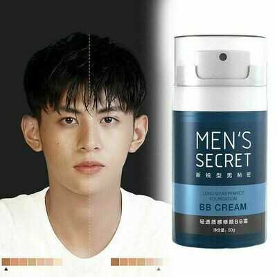 Men Light Concealer BB Cream Sweatproof Whitening