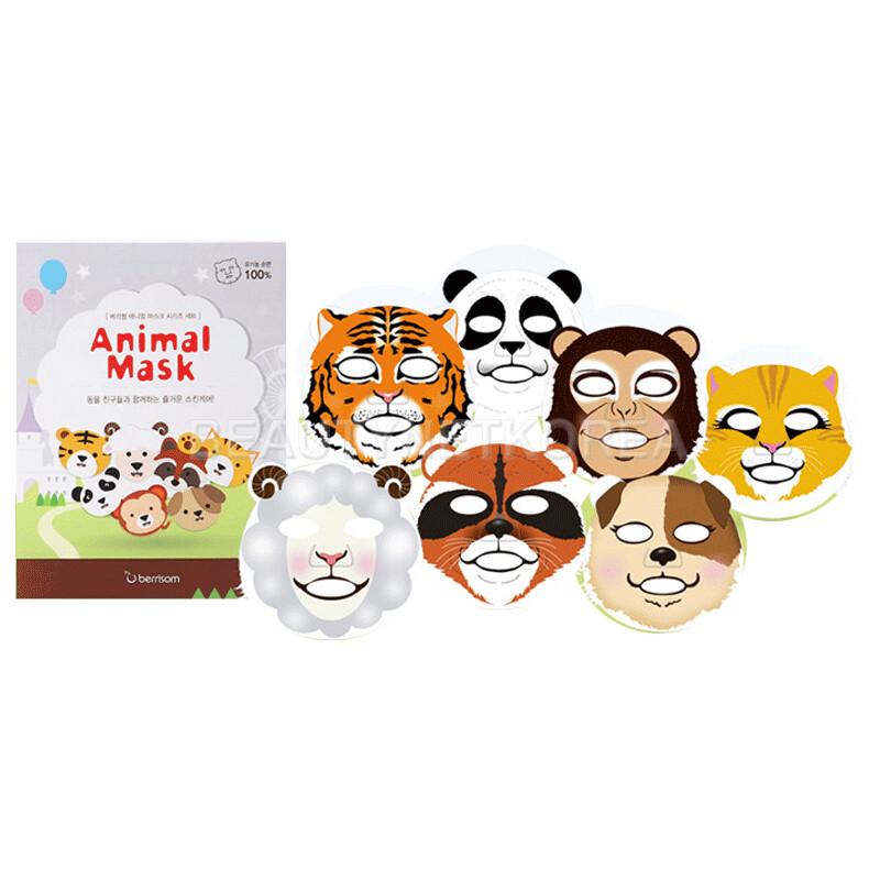 [BERRISOM] Animal Mask Series Set / BEST Korea Cosmetic