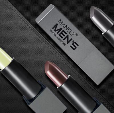 Men Moisturizing Lipstick Matte Changed Color Lip Men's