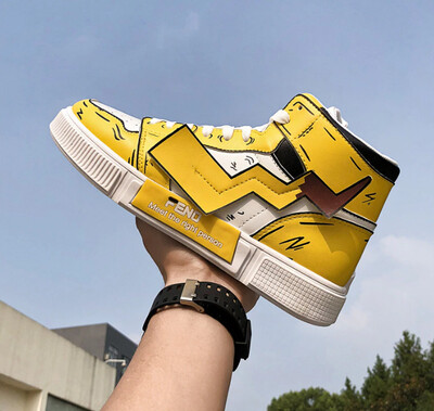 Men's Pikachu Shoes Sneakers