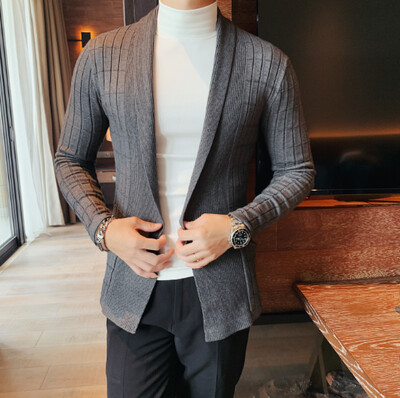 Camiseta de punto a la moda para Hombres Korean Style