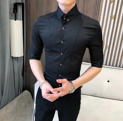 Camisas de estilo británico para hombre Korean Style