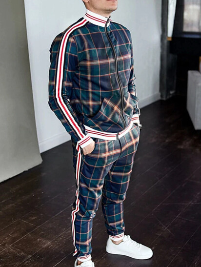 Camisas Polka de alta Calidad para Hombres Korean Style