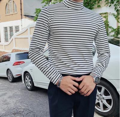 Camisa Cuello Tortuga Calidad para Hombres Korean Style