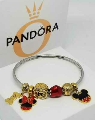 Bracelet Minie Pulsera Compatible  Mickey Stich Minnie 2020