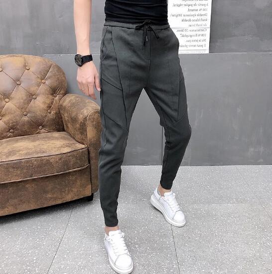 Pantalones de correr coreanos para hombre Sweatpants Korean Style