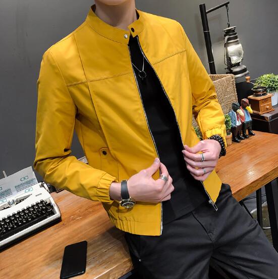 Alta calidad chaqueta de otoño de los hombres de moda  Korean Style