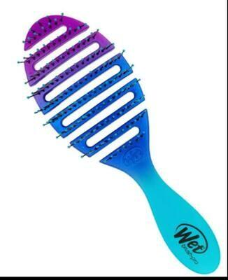 Wet Brush Original Detangler (Teal & Purple Ombre)
