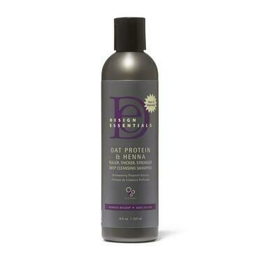 Design Essentials Oat Protein & Henna Deep Cleansing Shampoo