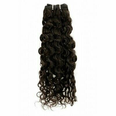 20″ Deep Curly Indian Hair Machine Weft