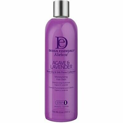 Design Essentials Natural Agave & Lavender Moisturizing Hair Bath