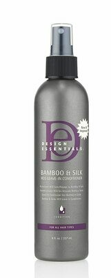 Design Essentials Natural Bamboo & Silk HCO Strengthening Leave-In Conditioner