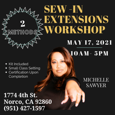 Sew In Hair Extension Class