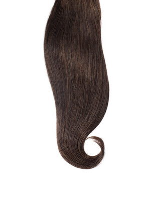 Hand Tied Weft Hair Extensions (8 Bundles) #1B