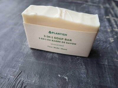 3-in-1 Soap Bar with Shea Butter