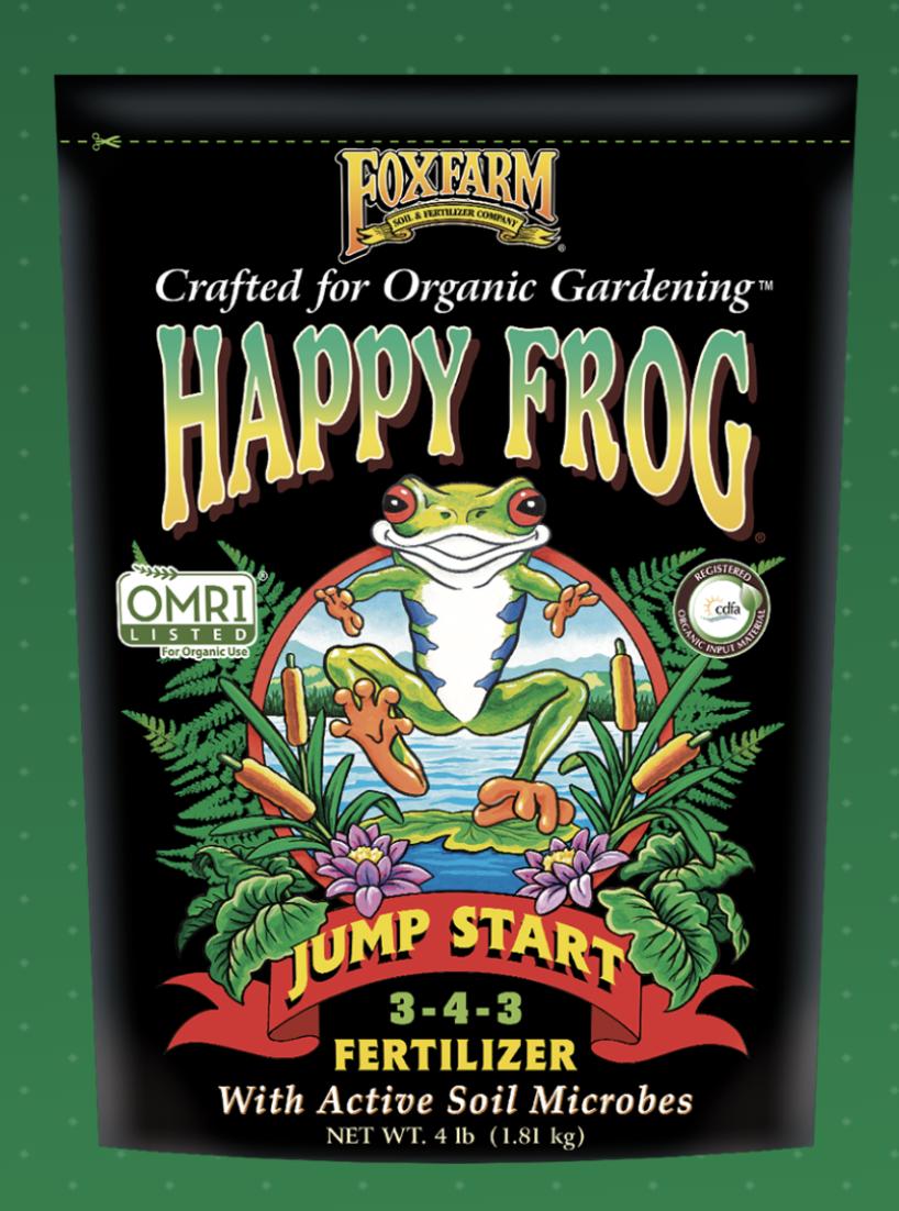 HAPPY FROG® JUMP START FERTILIZER