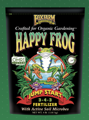 HAPPY FROG® JUMP START FERTILIZER