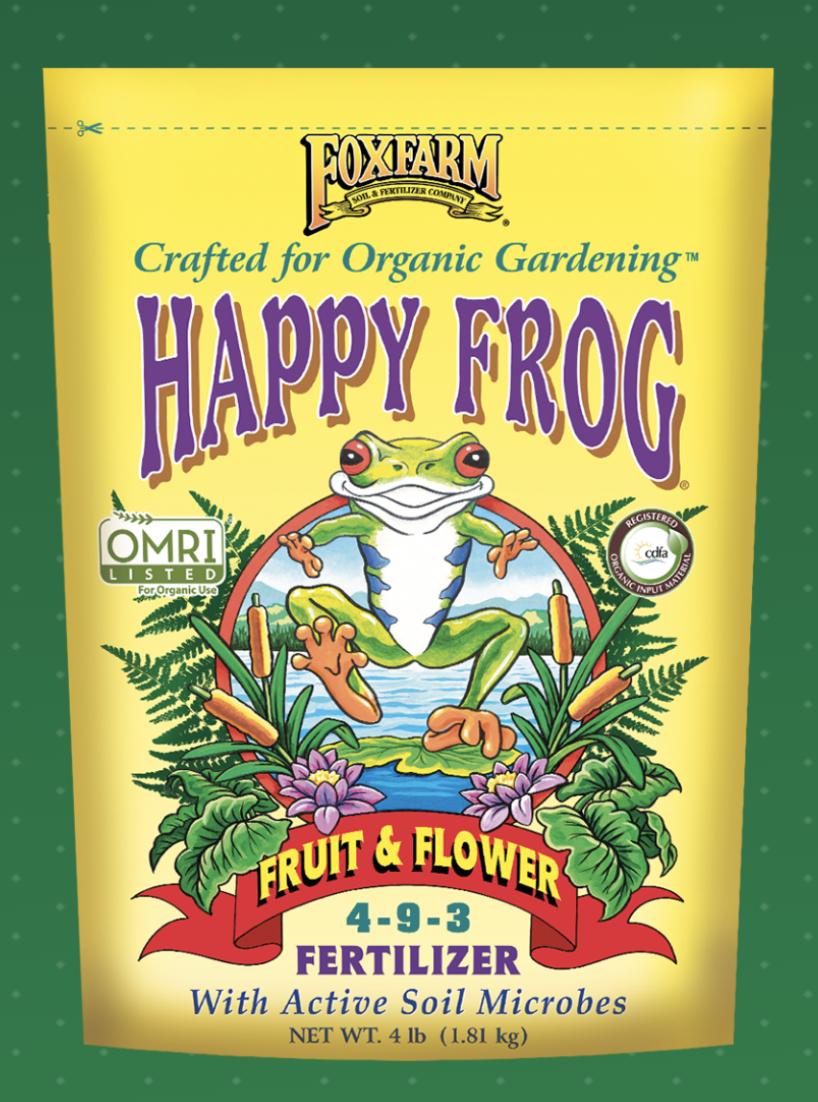 HAPPY FROG® FRUIT & FLOWER