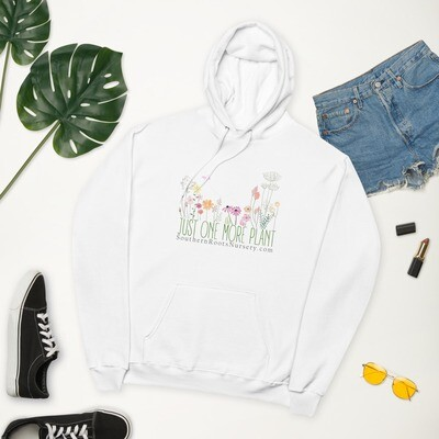 Just One More Plant - Unisex fleece hoodie