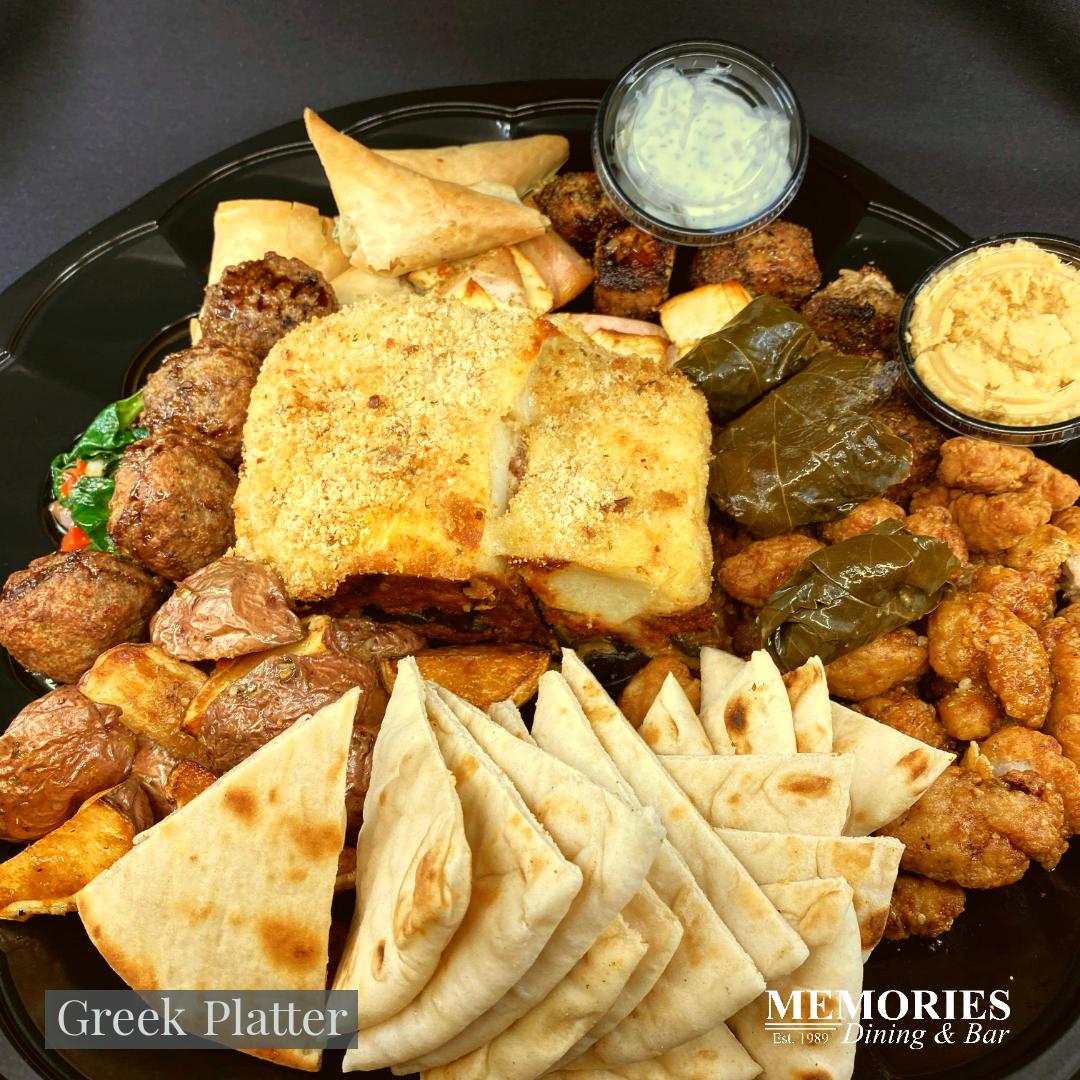 Greek Platter for 2